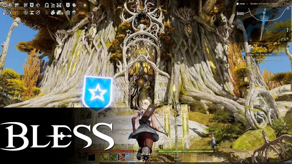 BLESS Online - Gameplay Elf Ranger Starting Area video thumbnail