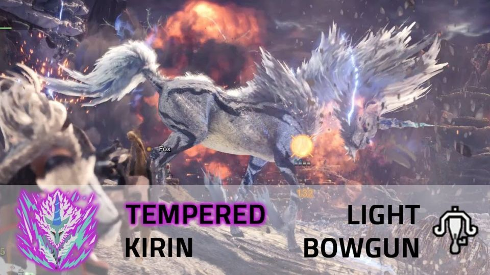 Tempered Kirin | Light Bowgun | Monster Hunter World video thumbnail