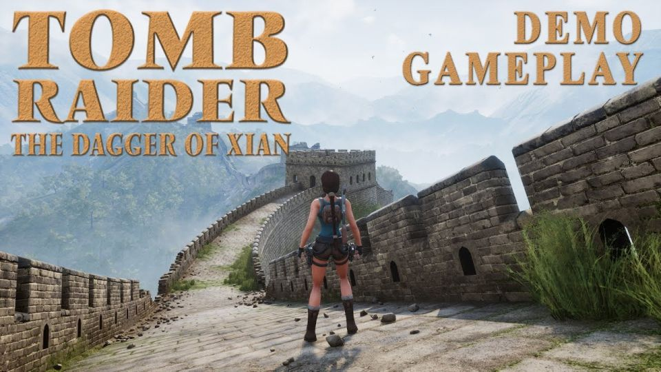 Tomb Raider - The Dagger of Xian (Demo) Gameplay video thumbnail