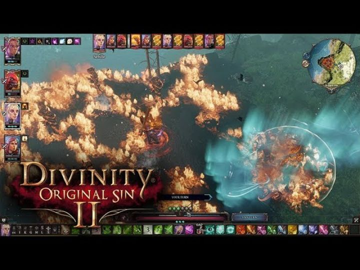 Divinity: Original Sin 2 - Corpse of Alice Alisceon fight video thumbnail